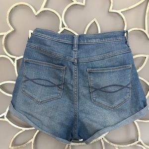 Abercrombie & Fitch Shorts - Abercrombie and Fitch High Rise Denim Shorts 4